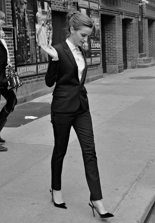 I have been obsessed with pantsuits for women. I've been desperately wanting a quality one. Christmas...? :)